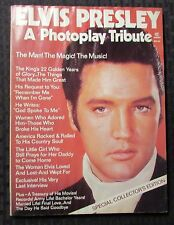 1977 ELVIS PRESLEY A Photoplay Tribute Magazine VG 4.0