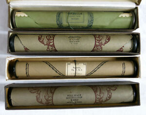 BRITISH AUTOPLAYER, music roll, 4 rouleaux, piano mécanique, Gillet, Beethoven