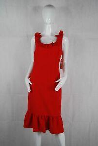 Nanette Nanette Lepore Red Bows Vest Dress NWT $45.00