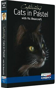 Vic Bearcroft, Captivating Cats in Pastel DVD.