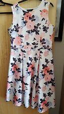 Dorothy Perkins vintage style floral dress size 16