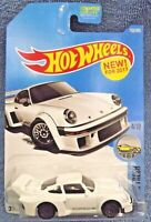 2017 Hot Wheels #153 Factory Fresh 4/10 PORSCHE 934.5 White w/Gray Lace Spokes