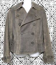 NEW Express Precision Fit Research & Development Leather Jacket sz 10