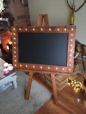 Wooden Chalkboard Rustic Flashing Chalkboard Menu Drinks Menu Restaurant Stand