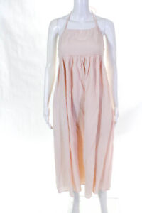 House of Harlow 1960 Womens Sleeveless Self Tie Maxi Dress Pink Size X-Small