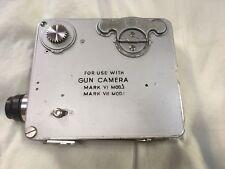RARE 16mm Bell & Howell Gunnery Mark V1-Mark V11 GUN CAMERA Circa 1933 / Pre WW2