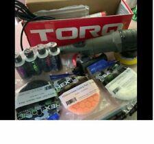 TORQ 10FX Random Orbital Polisher Car Kit (9 items) Chemical Guys BUF_501X NEW!