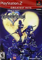 PLAYSTATION 2 PS2 KINGDOM HEARTS 1 NEW 100 DISNEY TOONS