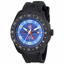 Luminox Men's A.5023 Carbon GMT Analog Display Analog Quartz Black Watch