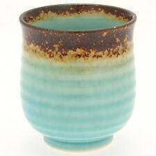 1x Japanese Turquoise Sky Tea Cup #114-804