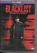 COFFRET 5 DVD ZONE 2--SERIE TV--THE BLACKLIST--INTEGRALE SAISON 2