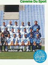 136 TEAM EQUIPE OLYMPIQUE MARSEILLE OM VIGNETTE STICKER FOOT 2001 PANINI