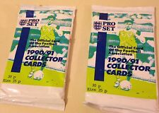 """Pro Set Soccer """"Football"""" Association Unopened Card Pack 1990/91 Collecter Cards"""