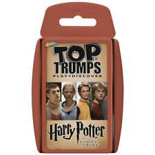Top Trumps Harry Potter y el Cáliz de Fuego (Español) - Baraja Juego de Cartas