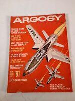 Vintage September 1960 Argosy fiction fact mens magazine