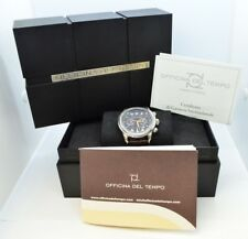 Officina Del Tempo Safi Stainless Steel Chronograph Watch - 44MM - OT1026/40NSN
