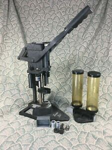 Vintage Texan Shotshell Reloader Shotgun Press 20 - 28 GA - With Protective Case