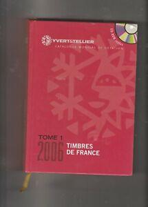 Catalogue Y et T timbres de France année 2005  neuf