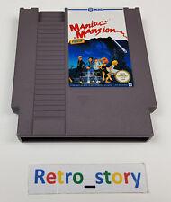 Nintendo NES Maniac Mansion PAL