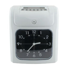Time Clock For Employees Analogue Machine Punch In System Card Electronic Office