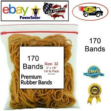 Rubber Bands Size 32 3 X 18 14 Pound Bag For School Home Or Office 170 Pcs