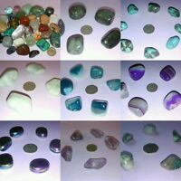 Single Natural Polished Crystal Stones-Mixed Selection-Collecting,Healing&Chakra