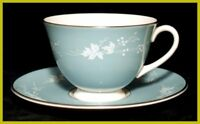Royal Doulton Reflection Tea Cups & Saucers 1st Quality In Very Good Used Condit