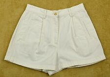 Ann Taylor LOFT Petites Solid 100% Cotton Shorts for Women