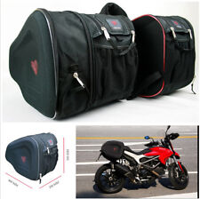 1 Pair Oxford Motorcycle Saddle Bags with Bands+2x Waterproof Rain Cover(Gift)
