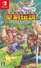 Seiken Densetsu Collection Japanese subtitle Nintendo Switch NEW