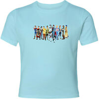 Disney Ten Princes Unisex Men Women Video Movie Anime Cartoon T-Shirt