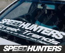 Speedhunters 90 cm Frontscheiben Aufkleber Sticker Tuning Auto Decal Audi BMW VW