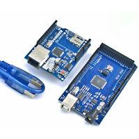 (Arduino Mega 2560 - Compatible Board) + W5100 Ethernet Shield Lan ATMega328