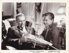 MICKEY ROONEY LIONEL BARRYMORE Original Vintage CAPTAINS COURAGEOUS MGM Photo