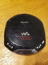 Vintage Sony Cd Walkman D-E220 Espmax Black and Gray