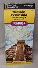 National Geographic Northern Yucatan Peninsula: Maya Adventure Travel Map 3105