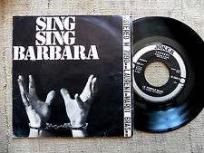 Michel Laurent – Sing Sing Barbara /  45 giri