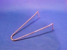 "(5) Spring Loaded 8"" Copper Clad Tube Hook Hanger for Round Oval Square Tubing"
