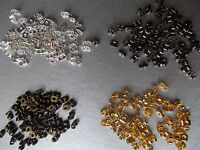 5 GRAM PACK OF SPARE EARRING BACKS, BUTTERFLIES,CHOSE,SILVER,GOLD,BLACK,BRONZE,