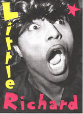 LITTLE RICHARD  POSTER. Rock'n'roll.