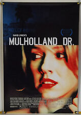 MULHOLLAND DR. DS ROLLED ORIG 1SH MOVIE POSTER DAVID LYNCH NAOMI WATTS (2001)