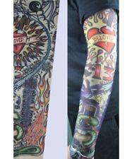 PunkJewelry Fashion Tattoo Ärmel FLAMMENDES HERZ im 2er SET
