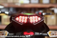 2010 2011-2013 Kawasaki Z1000 Versys Ninja 1000 SEQUENTIAL Signal LED Tail Light