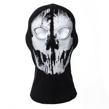 Biker Cycling Ski Snowboard Full-face Neck-warmer Mask BALACLAVA Ghost Skull #02