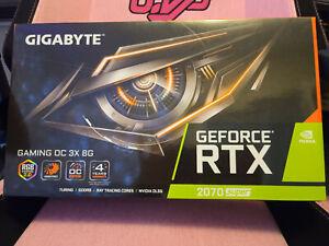 Gigabyte Nvidia Gforce RTX 2070 Super -OC Edition - BRAND NEW BOX NOT OPEN!