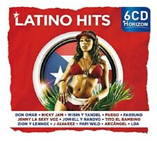 Horizon-Latino Hits-Don Omar, Nicky Jam, Fuego, farruko, LDA U, A, 6 CD NEUF