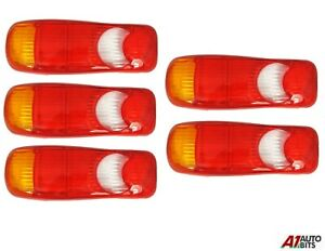 Fits Nissan Cabstar Rear Tail Light 5x Lens Eclipse Teardrop Rh + Lh