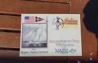 1986 AMERICAS CUP postmark cover with famous  Winners MAGIC -1870