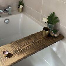 Rustic Wooden Bath Board, Bath Caddy, Bath Tray, Bath Mate, Bath Shelf, Bathroom