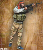 1/35 Arab Soldier Resin Kits Unpainted Figure Model GK Unassembled
